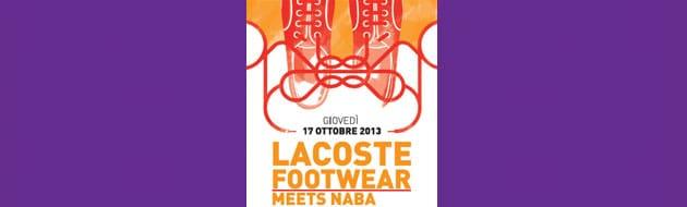 Lacoste與NABA米蘭藝術大學的相會